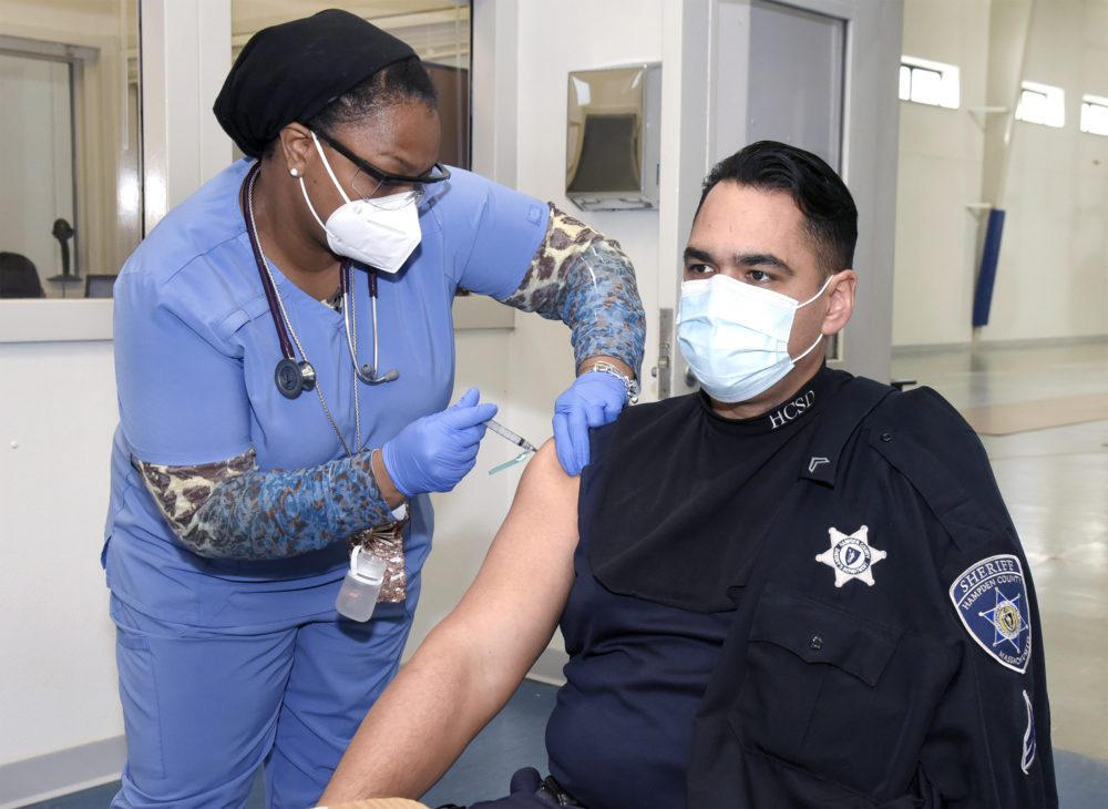 Police Bing Forced To Get Vaccinated